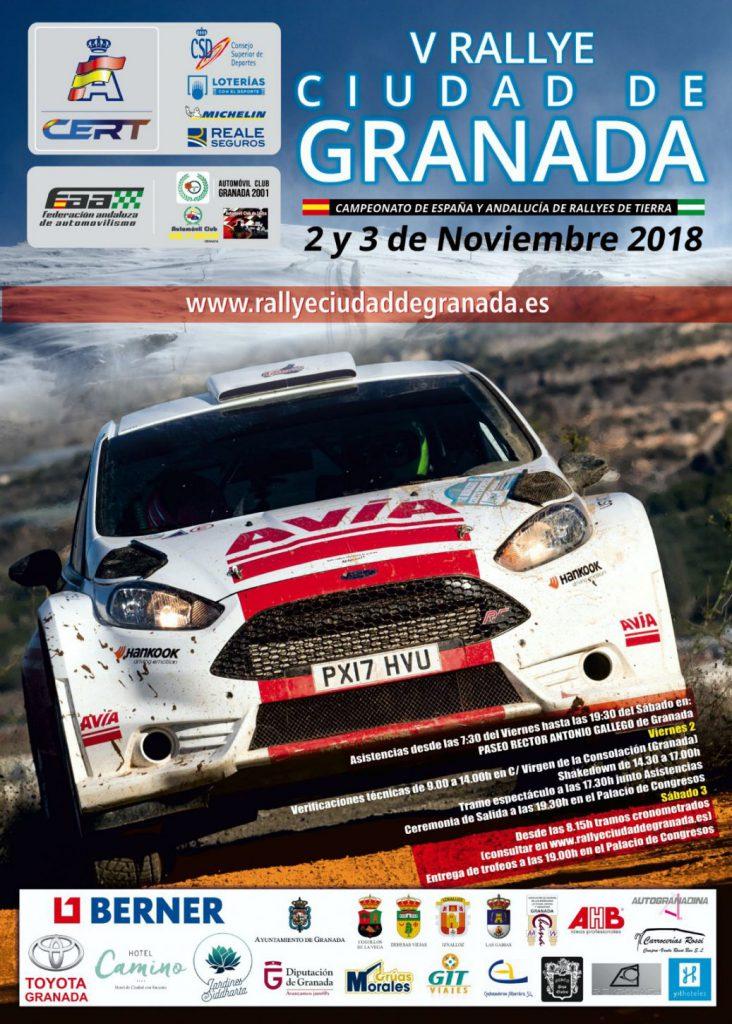 CERT: 5º Rallye Ciudad de Granada [2-3 Noviembre] Cartel-V-Rallye-Ciudad-de-Granada-732x1024